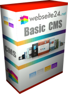 basic cms webseite produktbox