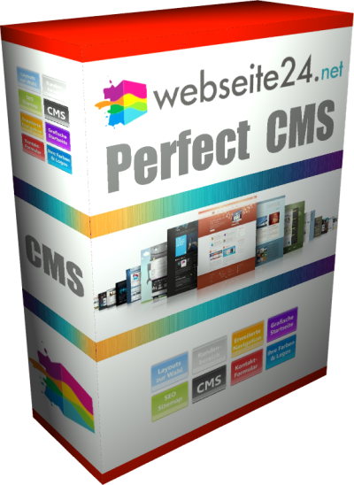 Perfect CMS Webseite Produktbox